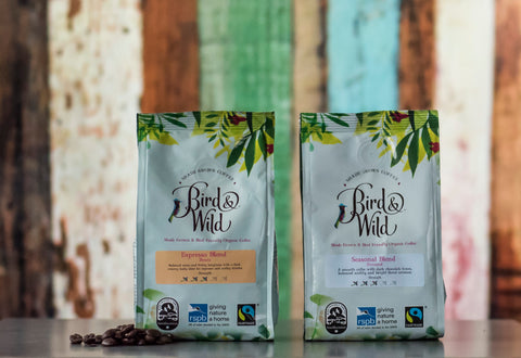 Bird and Wild RSPB Coffee Fairtrade Organic Smithsonian Institute Bird Friendly Shade Grown Certified Coffee Beans 1
