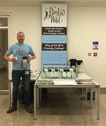 Organic Coffee Tasting of Bird & Wild Coffee at BNP Paribas London Office