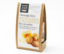 HONEY, BANANA & MACADAMIA BITE-SIZE COOKIES 260G
