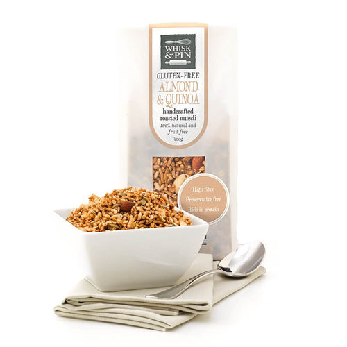 ALMOND & QUINOA GF FRUIT-FREE ROASTED MUESLI