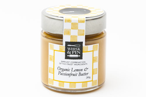 ORGANIC LEMON & PASSIONFRUIT BUTTER 280G