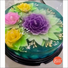 3-D Jelly Cakes (Large Size) - Design B - Frozen