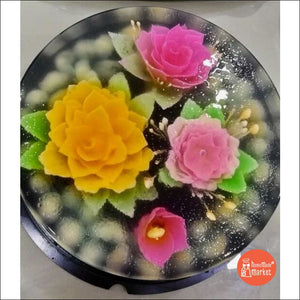 3-D Jelly Cakes (Large Size) - Design C - Frozen