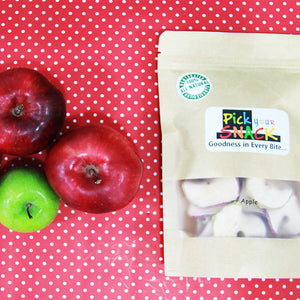 Apple 100% Natural Dehydrated Fruits (Set of 3)