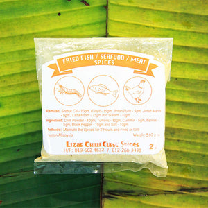 Fried Fish, Seafood, Meat Spice (5 packs per Quantity)