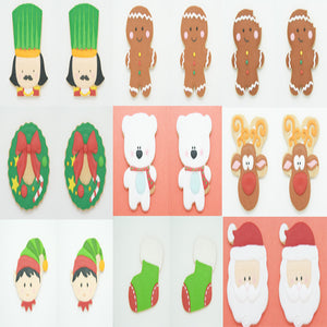 Gingy Christmas Set (9 types x 2pcs)