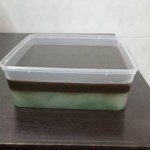 Homemade Cendol Jelly (Suitable For Vegetarians)