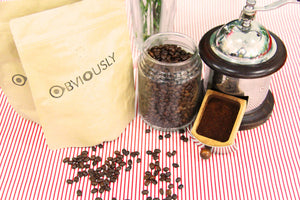 Arabica Coffee Beans - INDIAN MONSOONED MALABAR - HomeMadeMarket