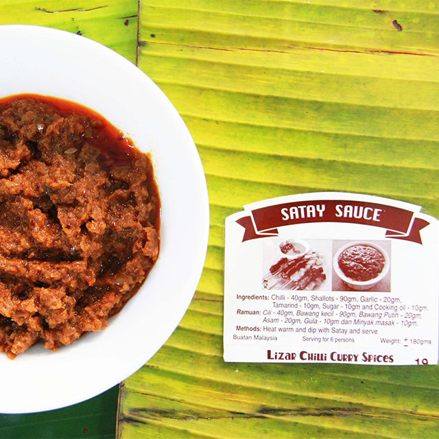 Satay Sauces (5 packs per Quantity)