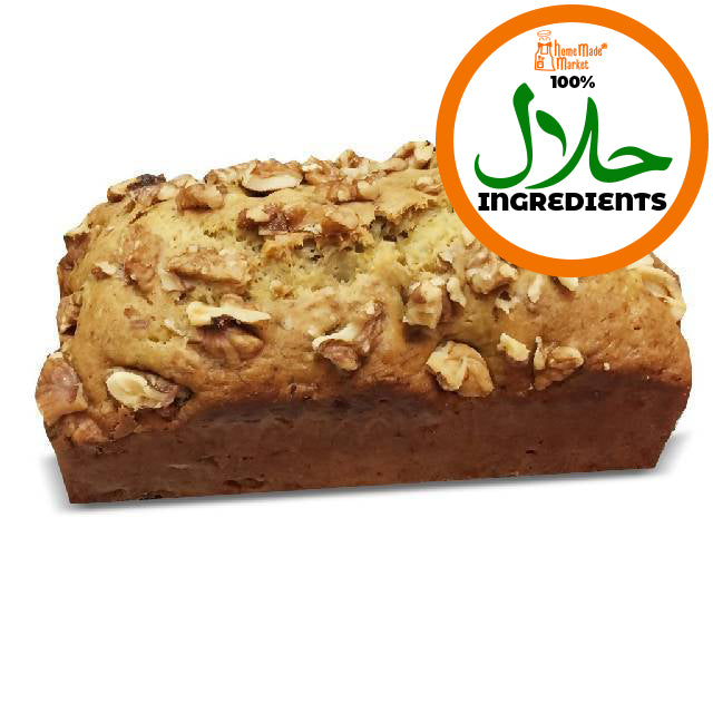 Banana walnut cake (500g)