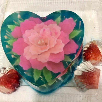3-D Jelly Cakes with Mini Jellies (Medium Size)
