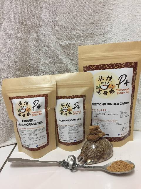 Bentong Ginger Tea & Ginger Candy (Combo Pack)