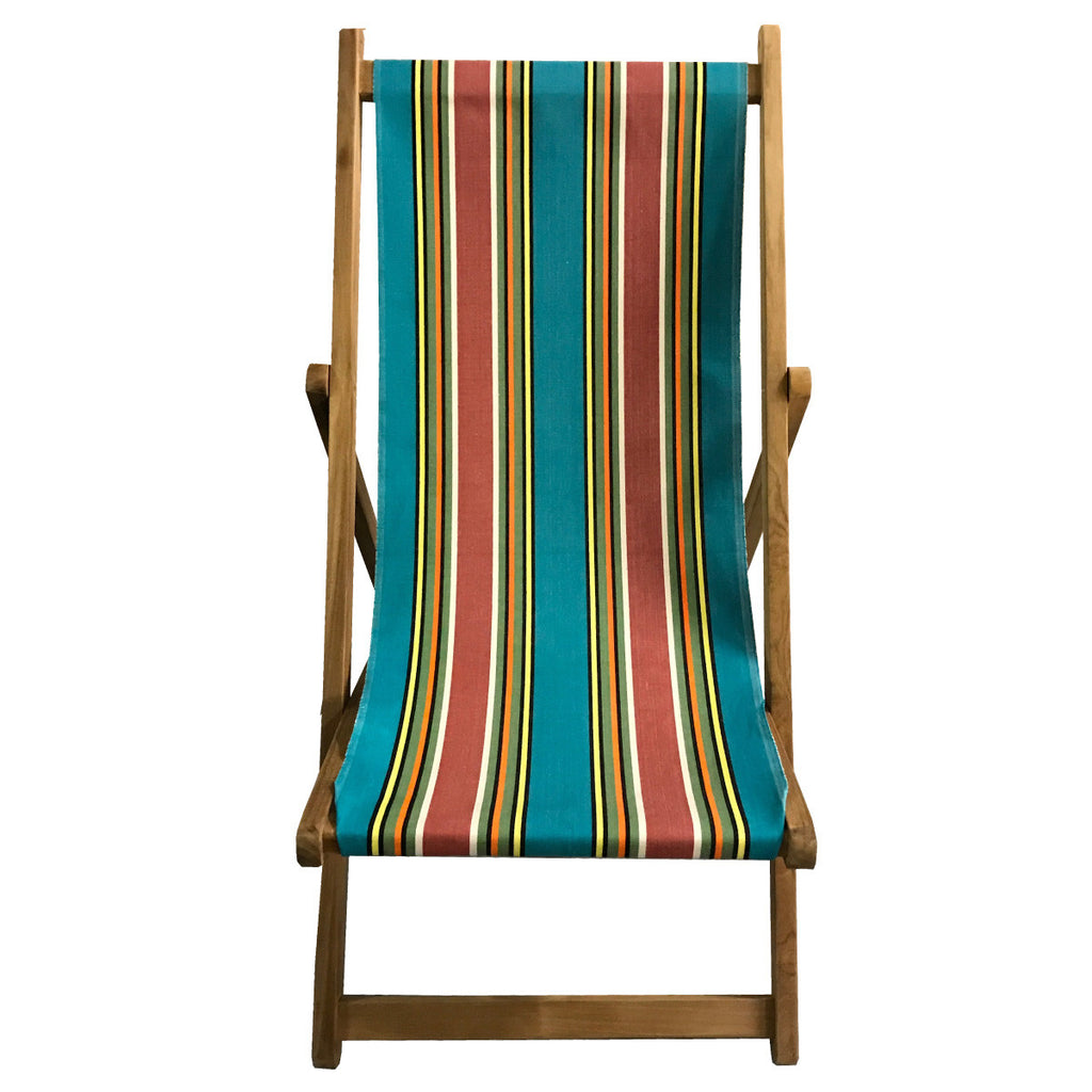 bagatelle teak striped deckchair deckchair stripes. Black Bedroom Furniture Sets. Home Design Ideas