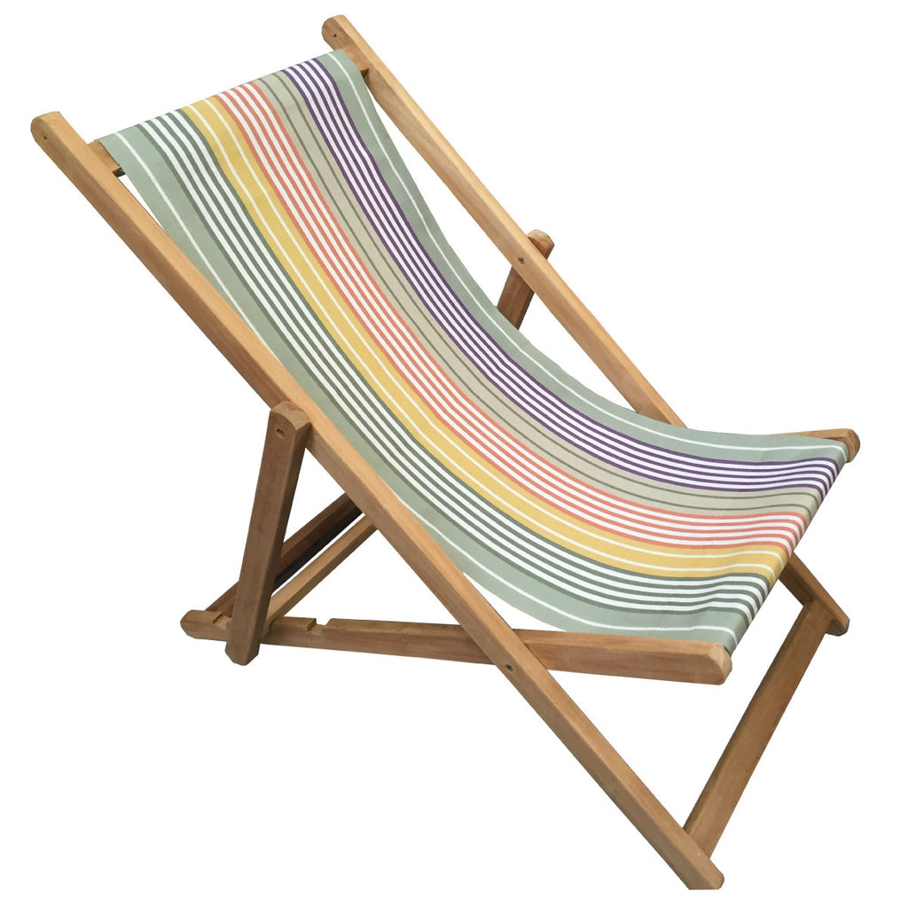 boules teak striped deckchair deckchair stripes. Black Bedroom Furniture Sets. Home Design Ideas