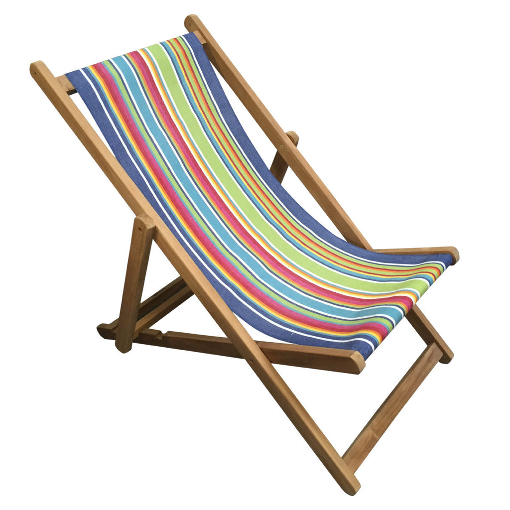 climbing teak striped deckchair deckchair stripes. Black Bedroom Furniture Sets. Home Design Ideas
