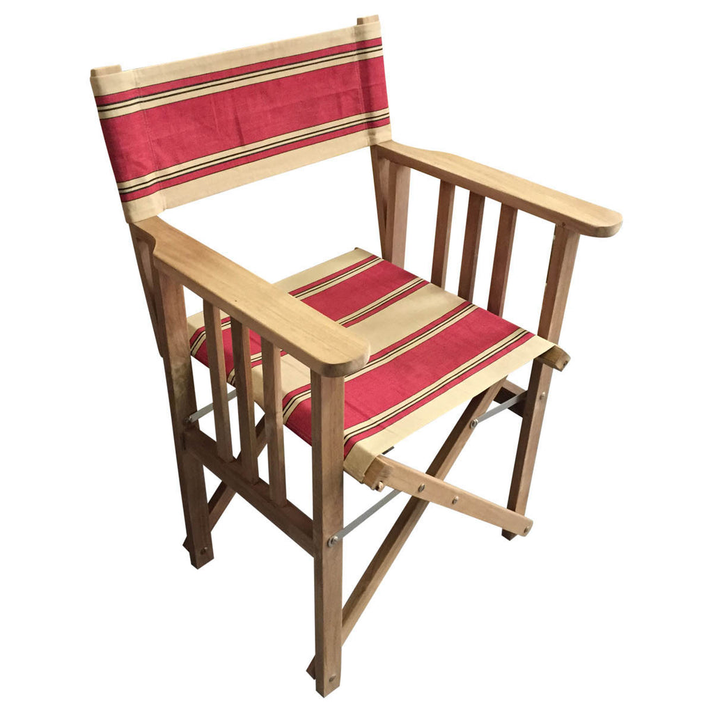 Steeplechase Striped Directors Chair
