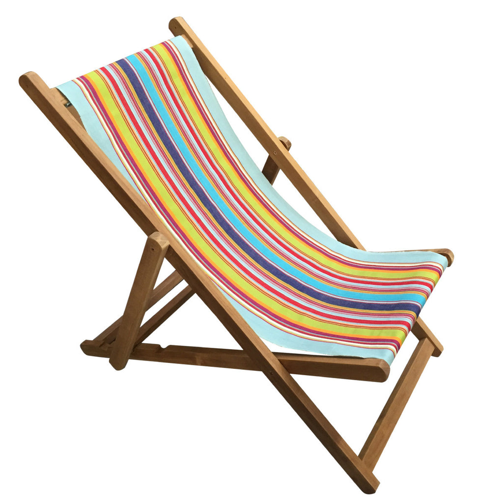 flamenco teak striped deckchair deckchair stripes. Black Bedroom Furniture Sets. Home Design Ideas