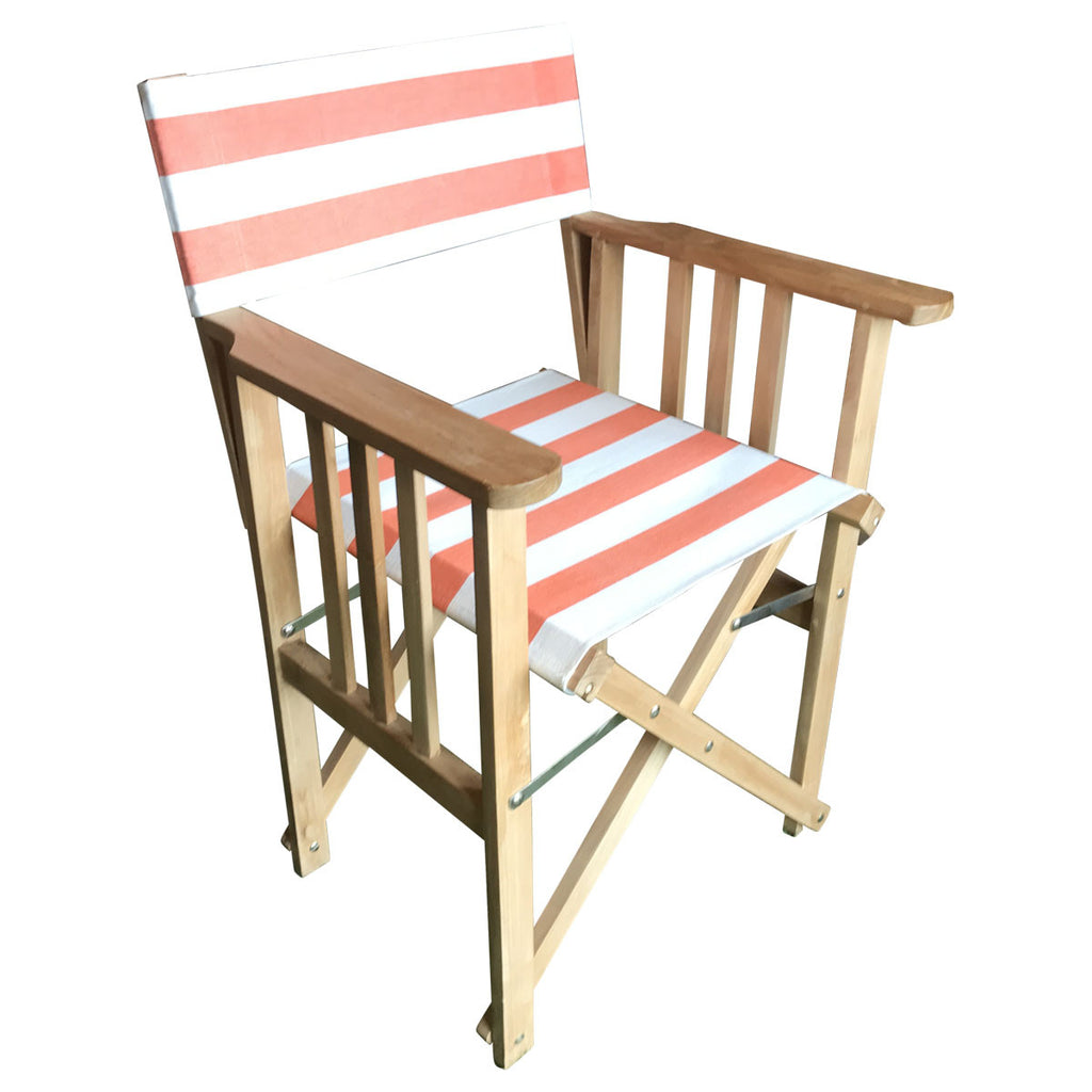 Jousting Striped Directors Chair