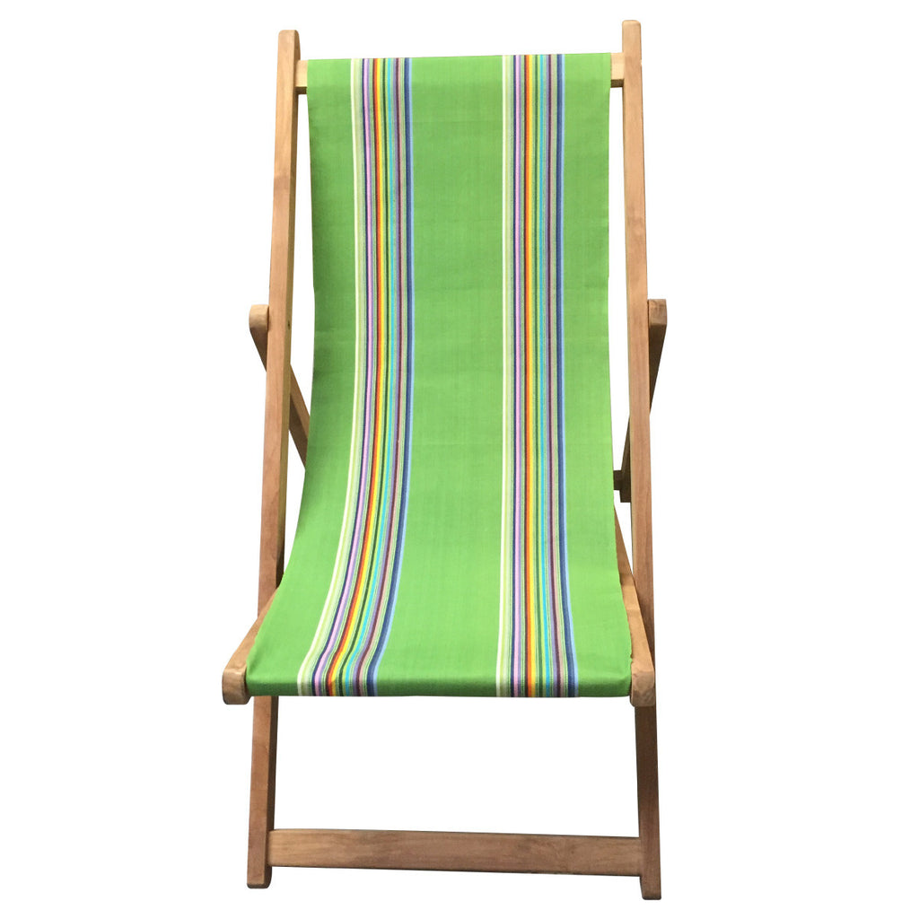 punting teak striped deckchair deckchair stripes. Black Bedroom Furniture Sets. Home Design Ideas