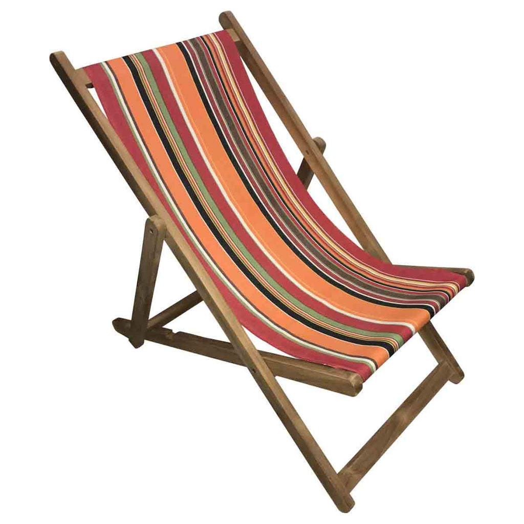 skipping teak striped deckchair deckchair stripes. Black Bedroom Furniture Sets. Home Design Ideas