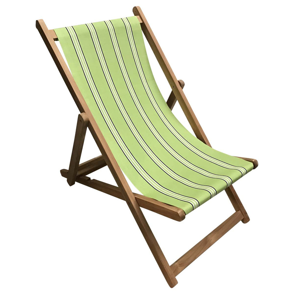 sprinting teak striped deckchair deckchair stripes. Black Bedroom Furniture Sets. Home Design Ideas