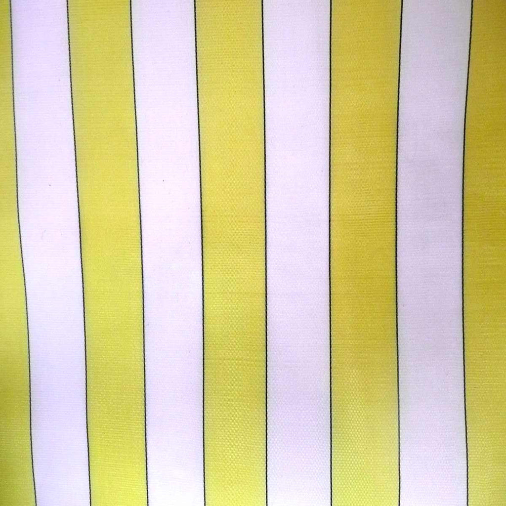 Yellow u0026 White Weatherproof Deckchair Fabric 1.5 Metre & Yellow Weatherproof Striped Deckchair Fabric u2013 Deckchair Stripes