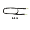 Audio Cable Flat Anti-Tangle Black, Cord, Friendie Audio Pty Ltd, Friendie Audio Pty Ltd