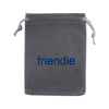 Friendie Grey Gift Bag (Small), Bags, Friendie Audio Pty Ltd, Friendie Audio Pty Ltd