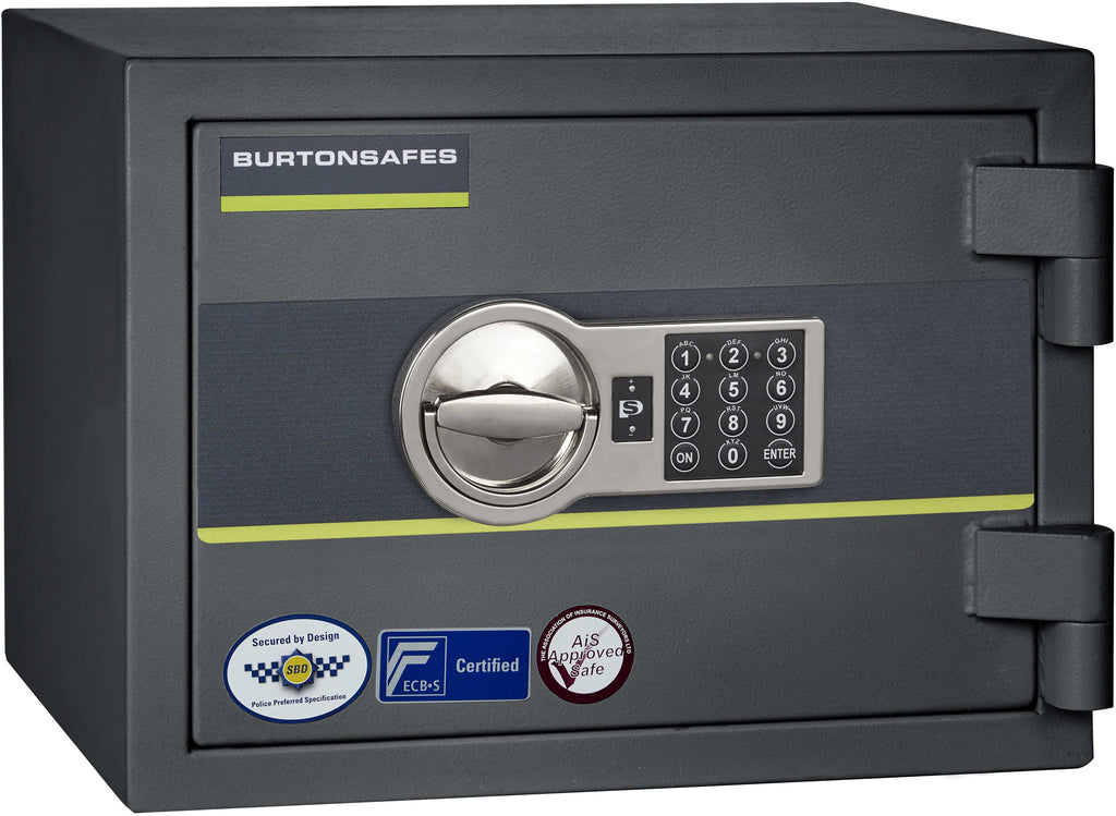 Burton Home Safe Size 1, www.homesafesupermarket.com, safes, crypto safes, home safes, fireproof safes