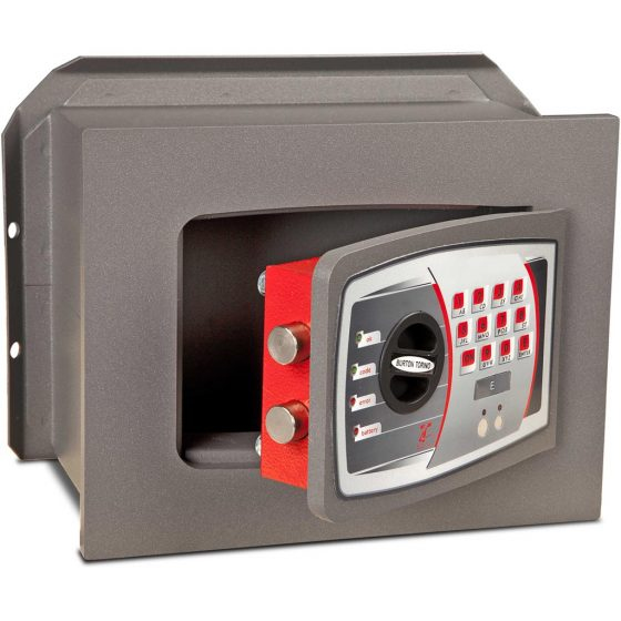 Burton DK Wall Safe Size 1E, www.homesafesupermarket.com, safes, crypto safes, home safes, fireproof safes
