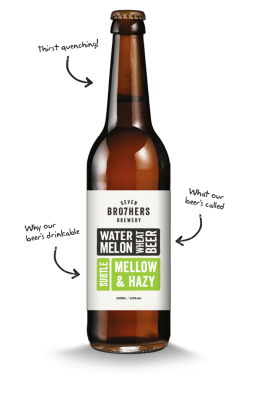 SEVEN BRO7HERS 330ml Water Melon Wheat Beer