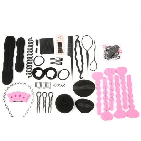 Accessoires kit coiffure chic complet