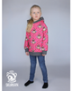 Mønsterark/printed pattern:  Twirl hoodie child 92-164 (US 2T-14y)