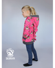 PDF-mønster/pattern: Twirl hoodie child 92-164 (US 2T-14y)