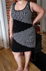 PDF-mønster/pattern: Puzzle Dress woman size 34-54 (US 4-24)