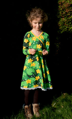 PDF-mønster/pattern: Mini me dress 80-164 (US 12mo-14y)