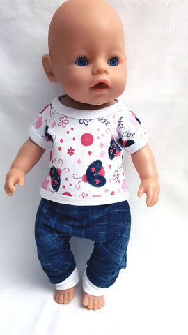 PDF-mønster/pattern: Doll basic bundle