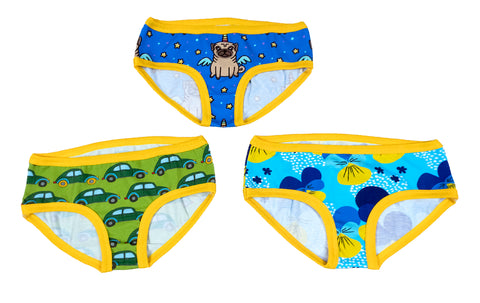 Mønsterark/printed pattern: Basic panties child 80-164