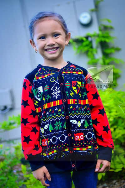 PDF-FILE Cloudy Day Hoodie Child size 80-164