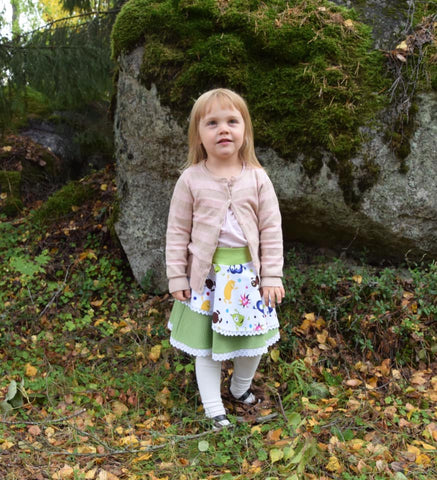 PDF-mønster/pattern: Feeling fabulous child size 80-164