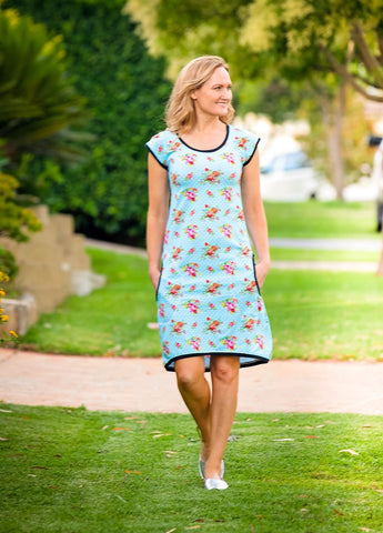 PDF-mønster/pattern: Every Day Dress adult size 34-54 (US 2-24)
