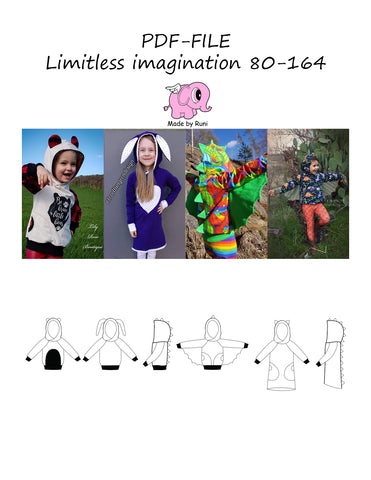 PDF-mønster/pattern: Limitless imagination 80-164