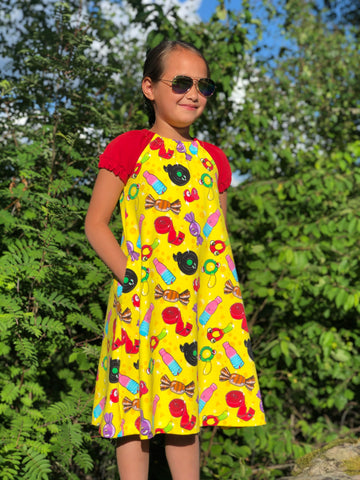 Mønsterark/printed pattern: Every day Singoalla child size 50-134 (US newborn-9y)