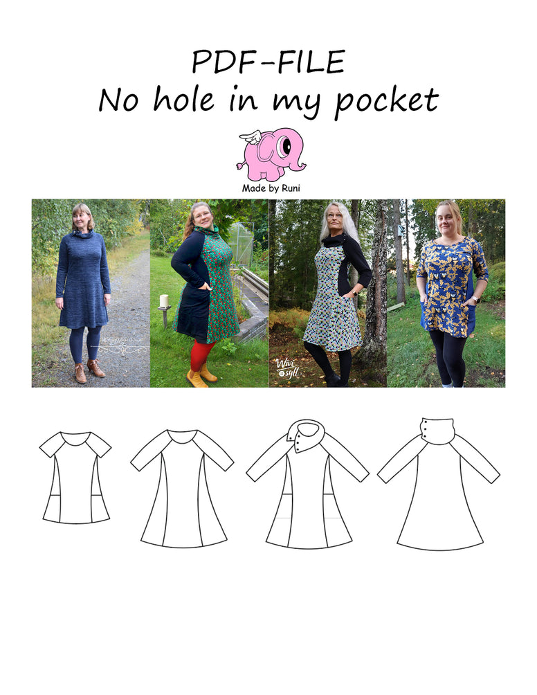 PDF-mønster/pattern: No hole in my pocket 32-54 (US 2-24)