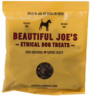 Beautiful Joe's Liver Treats + Tin