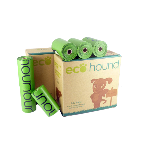 Ecohound Dog Poo Bags 16 Rolls