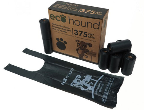 Ecohound Dog Poo Bags - 375 Bags (Handles)