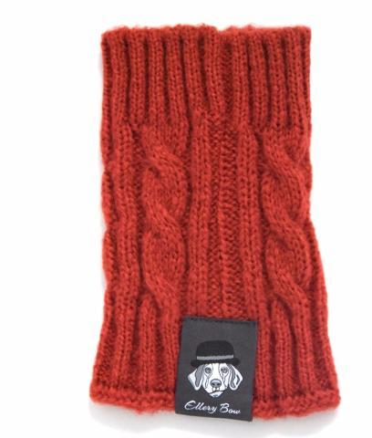 Dog Snood - Smoky Orange
