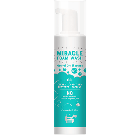 Miracle Natural Dry Foam Wash (200ml)