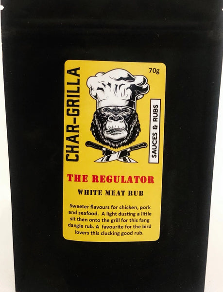 The Regulator - White Meat Rub 70g
